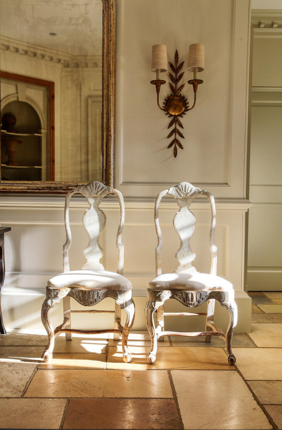Pair of Rococo chairs